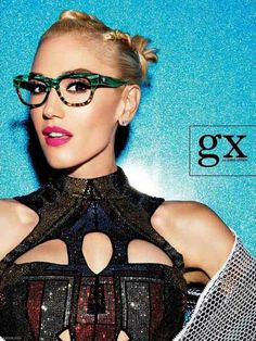 Can't wait to get my hands on these!!   gx by Gwen Stefani glasses by Tura Eyewear