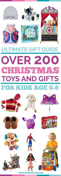 The ultimate Christmas gift guide for kids, babies and toddlers | Best Toy Gift Guide For Kids | Kids Christmas Gifts | The Best Toy Gifts | The Best Kids Toys | Kids Christmas Gift Guide | The Best Non-Toy Gift Guide | Holiday Gifts For Kids | #giftguide #kids #toys #musthaveproducts #besttoys #ChristmasGifts | www.awesomealice.com