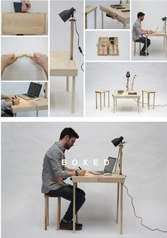 Boxed Multi-Functional Furniture [SOURCE]
