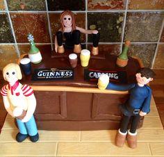 Pub bar cake