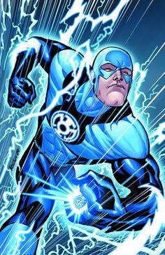 Brightest Day-Blue Lantern Flash
