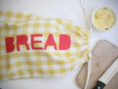 homemade bread bag!
