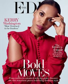 Kerry Washington on The Edit May 11, 2017 Cover