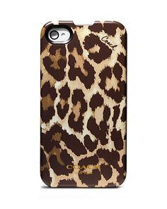 COACH Ocelot iPhone 4 Case | Bloomingdale's