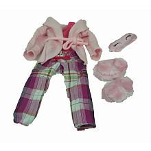 Journey Girls 18 inch Doll Fashion Outfit - Pink PJ Set with Slippers