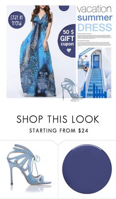 """""""Flowy Dress Trending!"""" by lana-drazic-posao ❤ liked on Polyvore featuring Chelsea Paris, Smith & Cult and Valérie Casado"""