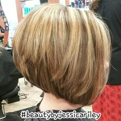 Inverted stacked Bob #beautybyjessicariley
