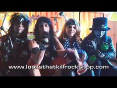 Look That Kill Rock Shop Commercial Featuring Crued the Hottest Motley C...