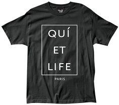 QUIET LIFE tee - Paris