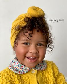 Perfect baby headwrap for the stylish baby girl in your life! Easy to slip on and off These wraps will match perfectly with our solid color (Mustard) headwr Cute Kids, Cute Babies, Bedazzled Shoes, Sunshine In My Pocket, Stylish Baby Girls, African American Beauty, Baby Queen, Black Kids, Black Child