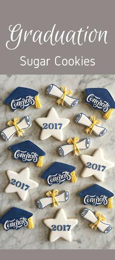 Graduation Decorated Cookies - One Dozen #affiliate