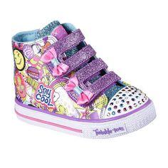 2c804e14e7d8 Skechers Twinkle Toes Shuffles Girls Sneakers - Toddler Baby Sneakers