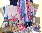 Delta Gamma Supply Sack:  Everything you need to create heartfelt Sister gifts