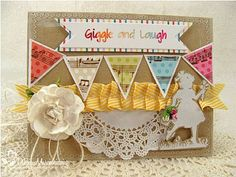 Giggle & Laugh Card by @Debbie Marcinkiewicz
