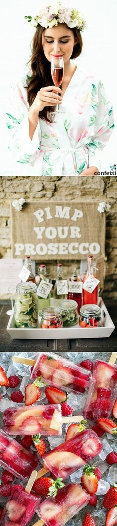 It's not poncey champagne, and it's a step above sparkling vino. Prosecco is the 'It' drink of swanky events. Prosecco is perfect for keeping within your wedding reception budget whilst still plying your guests with the bubbly they'll be expecting!
