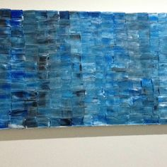Pinned it and did it. Palette knife art.