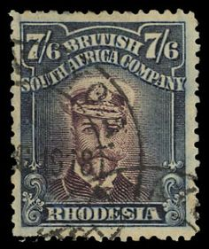 Postage Stamp - Rhodesia