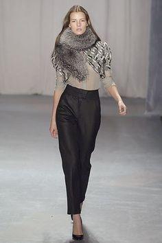 Brian Reyes Fall 2006 Ready-to-Wear Fashion Show - Jessiann Gravel