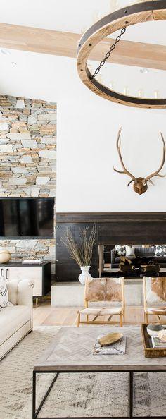 Modern Mountain Living Room | Studio McGee