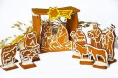 Готовимся к Рождеству: печем рождественский вертеп вместе с ребенком