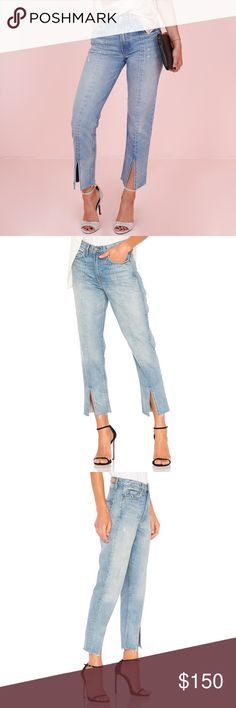 NWT GRLFRND Cheryl Side Split Jeans in Last Dance NWT. No flaws and in excellent condition. My mom purchased the wrong size for me. Still online, retails for $228. Never worn! Cheaper offsite. GRLFRND Jeans
