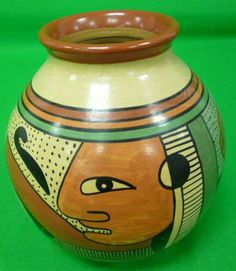 Painted Nicaraguan Pottery