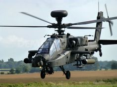 Apache Attack Helicopter practices before Afghanistan Deployment
