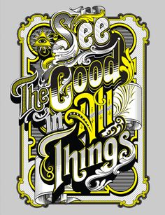 Positive Thinking Quote Graffiti Lettering, Typography Letters, Typography Logo, Graphic Design Typography, Lettering Design, Logos, Creative Typography, Vintage Typography, Vintage Graphic