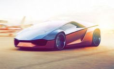 "The ""Lamborghini Ganador"" is a striking wedge-shaped concept by industrial design student Mohammad Hossein Amini Yekta. ""Developed in collaboration with the Italian automaker during Yekta's first semester of the 2011-2012 academic year of the Masters Program at Milan-based SPD, the Ganador features the wedge-shaped body style seen on cars such as the Lamborghini Countach, Alfa Romeo Carabo, Lancia Stratos Zero or the Dome Zero."" More vehicle design inspiration via InVisi..."