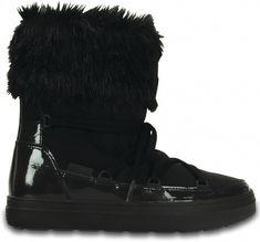Crocs čierne snehule Lodgepoint Boot Black Crocs d88e1e4d20f
