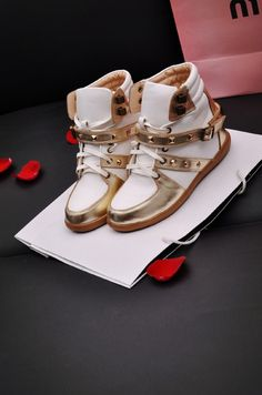 2013 women's Elevator hidden wedge shoes high top shoes gold sneaker wedges sneakers with heels-inSneakers from Shoes on Aliexpress.com