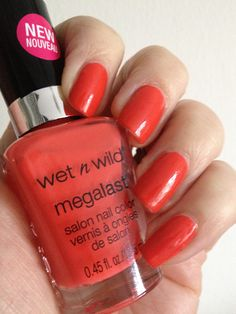 Wet N Wild Megalast Heatwave Wet N Wild Cosmetics, Cheap Makeup Online, Picture Design, All Things Beauty, Nail Art Designs, Swatch, Hair Beauty, Nail Polish, Nails