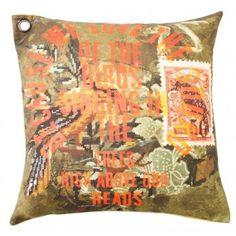 #Kudde Birdsong #cushion #oddbirds