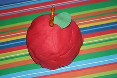 I did the apple scented playdough in this apple unit. Not a fan of cooking playdough on the stovetop.