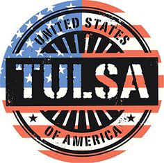 Tulsa City USA Flag Grunge Stamp Home Decal Vinyl Sticker 12'' X 12'' >>> For more information, visit image link. (This is an affiliate link and I receive a commission for the sales)
