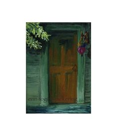 Doorway The Alchemist 5x7 Print of my original by eringopaint, $15.00