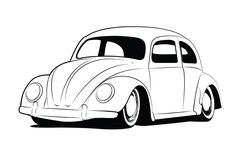 vintage volkswagen beetle coloring pages | vw beetle lineart by *GabeRios on deviantART