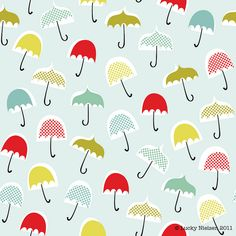 Fabric pattern at Spoonflower umbrella