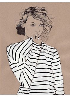 Dessin de Mode - Illustration de Mode - Daphne van den Heuvel