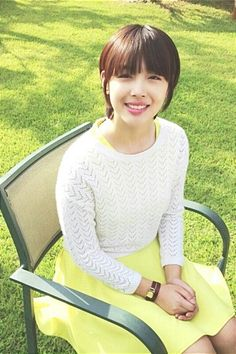 Sulli short haircut