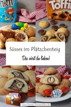 Süsses im Plätzchenteig Caramel Recipes, Chef Recipes, Easy Peasy, Cake Cookies, Cake Pops, Gingerbread Cookies, Lifestyle Blog, Good Food, Teddy Bear