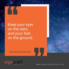 """""""Keep your eyes on the stars, and your feet on the ground."""" Theodore Roosevelt Life is all about balance. This is why we need to balance our dreams with the practical approach that we take to reach them. #CEOCircle #signagedesign #signcraftafrica #cladding #insulation #renovation #advertisingart #graphicsdesigns #advertisingcampaign #signdesign #claddingstone #claddingsystems #claddingdesign #claddingwall #claddingsolutions #claddingmaterial #claddingpanels #claddingcleaning #largeformat Cladding Design, Cladding Systems, Cladding Panels, Cladding Materials, Theodore Roosevelt, Signage Design, Advertising Campaign, Insulation, Dreams"""