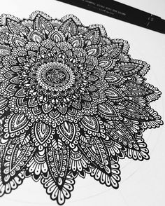 Oldie goldie. #mandala in process! So........... I've been constantly asked to create an adult colouring book.... What's your views? Comment below, I promise i will try and get back to you all! #murderandrose