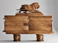 There's been a lot of press about the forthcoming Good Vibrations furniture designs from Ferruccio Laviani for Italian furniture company Fratelli Boffi's F* The Classics! Woodworking Plans, Woodworking Projects, Woodworking Videos, Modern Mountain Home, Boffi, Glitch Art, Italian Furniture, Best Vibrators, Furniture Companies