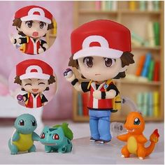 Nendoroid Pokemon Ash Ketchum #425 PVC Action Figure Collectible Model Toy 10cm KT1005 http://amzn.to/2luw5mX