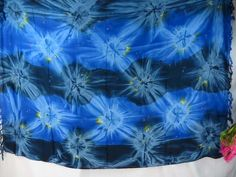 blue star burst tie dye sarong dresses for the beach clothing $5.25 - http://www.wholesalesarong.com/blog/blue-star-burst-tie-dye-sarong-dresses-for-the-beach-clothing-5-25/