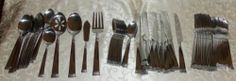Towle Living Everyday Logan 62-Piece Flatware Set