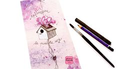 "Acquerello ""Apprezzare le Piccole Cose""- ""Appreciating Little Things"" Watercolor"