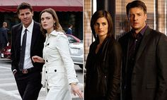 I Love this pairing of shows. Sunday night is the Best, during ratings season, when these two shows are on ☺ Bones Tv Series, Bones Tv Show, Castle Tv Shows, Castle Abc, Seamus Dever, Booth And Bones, Fox Tv Shows, Homicide Detective, Cop Show