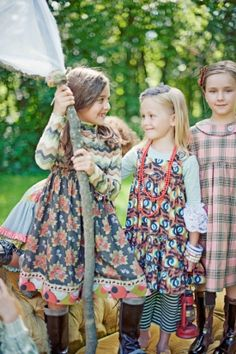 Matilda Jane! Vintage style clothing for kids.
